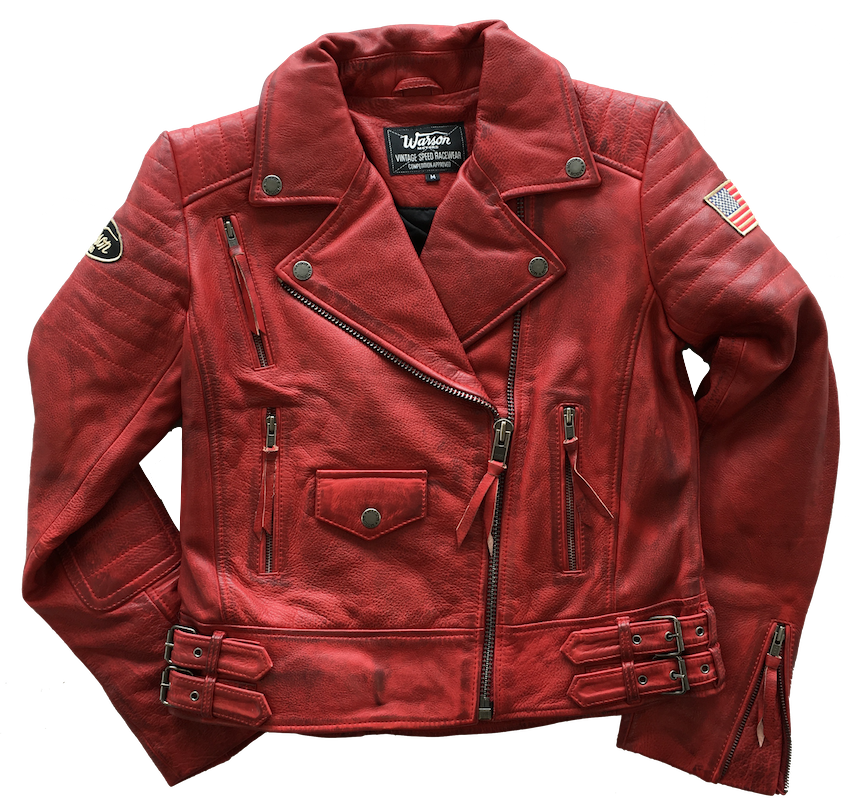 Police Perfecto Leather Red Women
