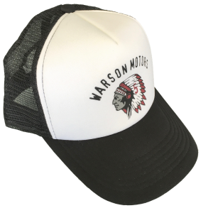 Trucker Indian Red Cap