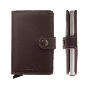 miniwallet original leather dark brown
