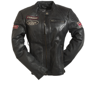 Grand Prix Leather Woman Jacket Black