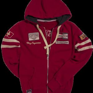 Hoddie Dark Red Regazzoni