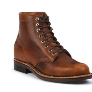 "MEN'S 1939 6"" ORIGINAL CHIPPEWA® SERVICE ENGLISH TAN GENERAL UTILITY BOOTS"