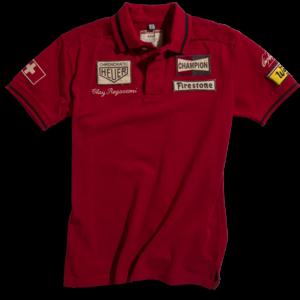 Polo Clay Regazzoni Red Men