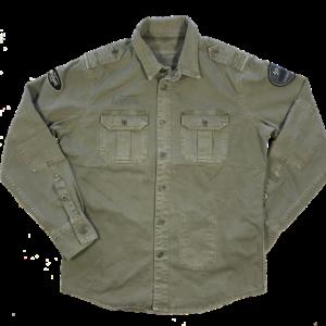 Shirt Military Grey