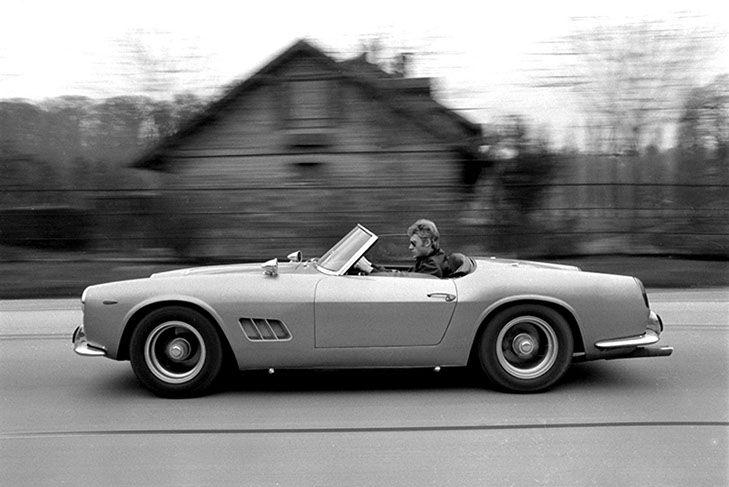 Johnny Hallyday la star de Warson Motors à Lausanne