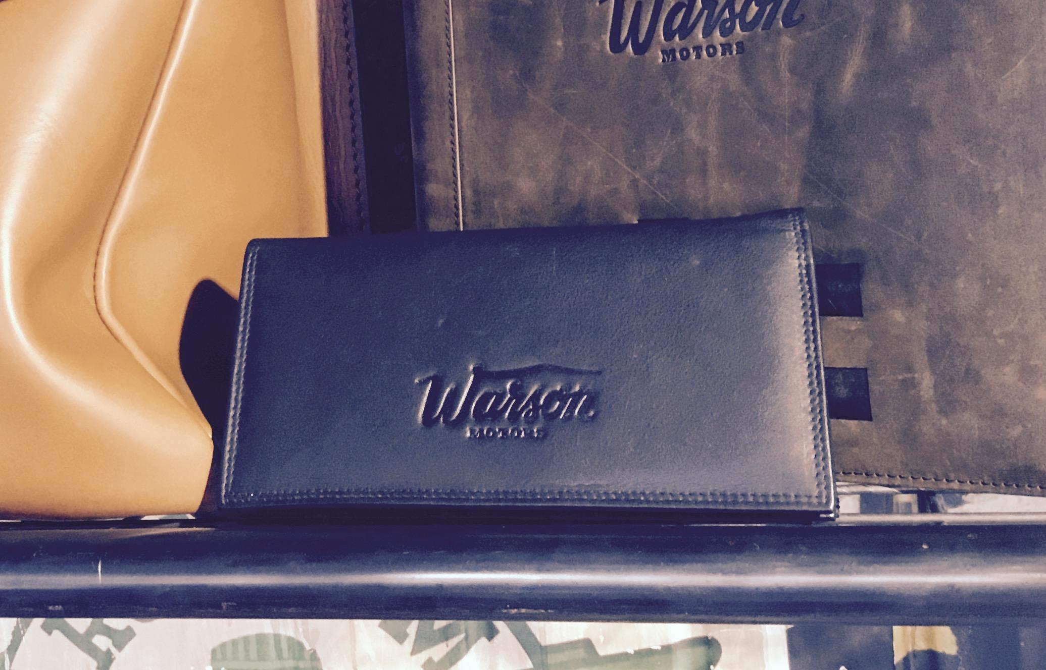 Porte-monnaie Warson Motors en cuir