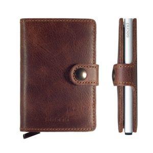 Miniwallet Vintage Leather Brown
