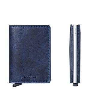 slimwallet vintage blue