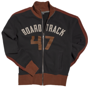 Board Track Jacket Carbone