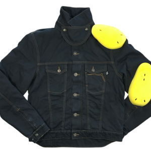 Cafe Racer Jacket Protege Blue Water Repellent