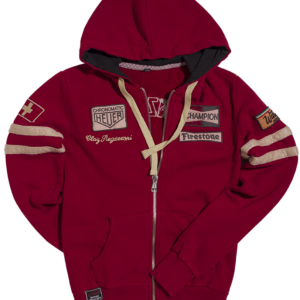 Hoddie Dark Red Regazzoni