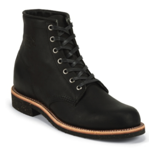 """MEN'S 6"""" BLACK WHIRLWIND GENERAL UTILITY SERVICE BOOTS"""